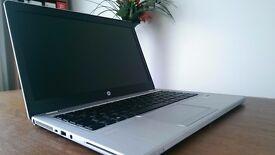 """HP Folio Ultrabook 9470m i7-3667U 2.00GHz-2.50GHz 8Gb,256,SSD HARD DRIVE 14""""HD"""