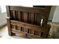 Solid Wooden Bed set