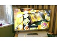 "40"" bauhn 4K full HD LED TV built-in freeview USB scart hdmi"