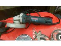 Bosch grinder fwo with discs 5month old