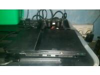 Slim ps2 with 20 games