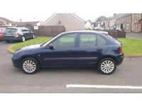 Rover 25 1.4 Impression 1yr MOT T/Belt Done Low Miles