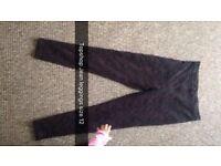 Topshop Jean leggings size 12