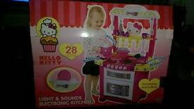 Hello Kitty light and sounds electronic kitchen. Never been used