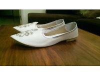 Men's Indian Wedding Shoes UK Size 7 ** Not used **