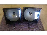 Reclaimed Vintage 1950s Retro Floor Lamp Industrial Lamp Stage Light Tripod Lamp 1