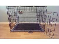 """Dog Crate / Puppy Cage 36"""" Large Black NEW"""