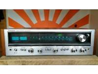 Vintage Pioneer SX636 receiver amplifier, reconditioned.