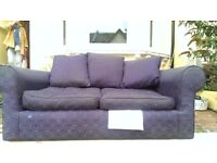Two seater sofa FREE TO COLLECT.