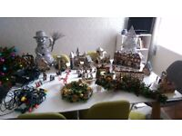 Various Christmas items for sale