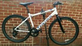 "Carrera Hybrid Axle Bike 27"" Wheels (excellent condition)"