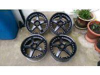 """19"""" Black Alloy Wheels"""