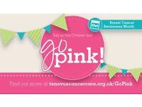 Go Pink! Breast Cancer Awareness Month Volunteer