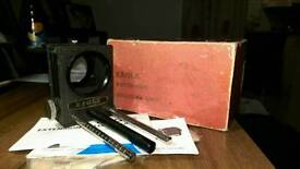 Vintage photography equipment - close up bellows