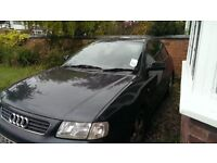 Audi A3 1.8T Sport Black in good condition, engine changed at 205000 miles, 10CD autochanger
