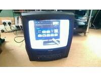 """Philips combination 14"""" CRT TV & VCR"""