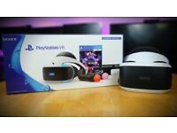 PSVR MEGA BUNDLE | PSVR + 2 Motion Controllers + VR Worlds Game + PS Camera