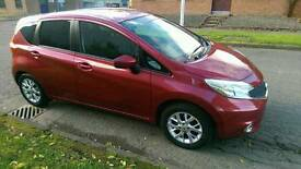 Beautiful red, great runner Nissan Note Acenta 2014 1.2l