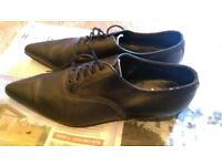 FABULOUS MEN'S LEATHER WINKLE PICKERS SIZE 10 GOOD CONDITION