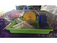 Mouse/hamster cage