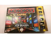 Monopoly Empire board game- great condition!