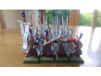 Warhammer High elf Spear regiment