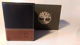 TIMBERLAND WALLET LEATHER -TRI FOLDING GRAB A BARGAIN