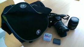 Canon EOS 350D Digital SLR camera with 18-55 and 18-125 lens DSLR with Case and Accessories