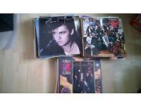 Lot of 100 vinyl albums - 1960s - 1980s