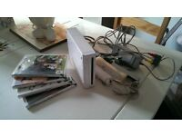 Nintendo wii plus 4 games