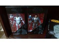 "Star Wars Black Series 6"" Action Figures"