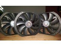 3x 200mm Coolermaster Computer fans