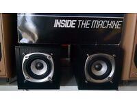 2x Speakers for Bookshelf or Desk, Small & Unobtrusive, Sound Great!