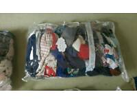 Mixed bags of baby clothes assortment