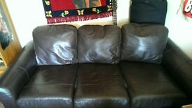 leather Sofa used Good condition