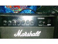 Marshall practice bass amp