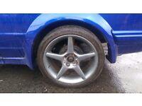 Ford alloys 205/40/17 Yokohama parada spec 2 tyres