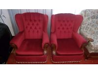 Excellent condition 2 armchairs
