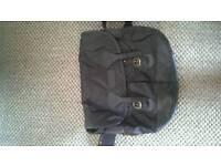 Black Barbour side bag