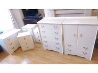 Bedside drawers and Chests