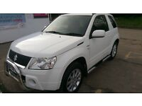 Suzuki Grand Vitara 1.9 diesel, 3dr, GREAT LOOK, 2008 reg, recent service, new MOT, many new parts
