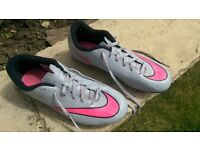 Nike Mercurial football boots,size 5.5