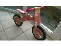 Tidlo Pink Balance Bike