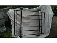 1) BMW ROOF RACK BARS + LUGGAGE RACK/BASKET