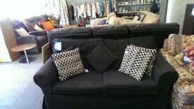 2,seat sofa charcoal grey goof conditiin