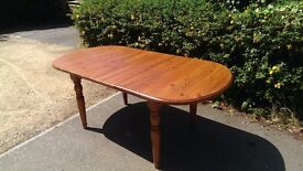 Extendable Solid Wood Dining Table (no chairs)