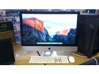 """iMac 27"""" (Mid 2011) Intel Core i7 3.4GHz Good Condition With Box"""