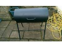 BBQ charcoal drum