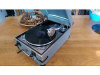 Gramophone portable 1950's 60's