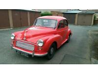 Morris minor possibly swap for Motorcycle